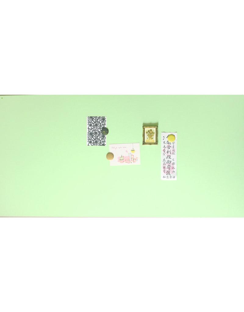 Magneetbord rechthoek mint groen 1200 x 600mm