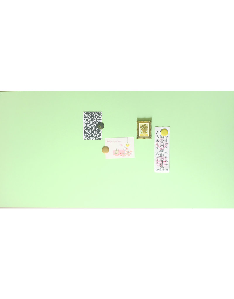 Magnet Board rectangle mint green 1200 x 600mm