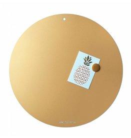 FAB5_Wonderwall Magneetbord CIRCLE OF LIFE  GOLD 85cm diameter
