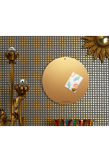 FAB5_Wonderwall Magneetbord CIRCLE OF LIFE  kleur GOUD 85 cm diam.