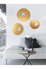 Magnetic Board CIRCLE OF LIFE  color GOLD 85 cm diam.