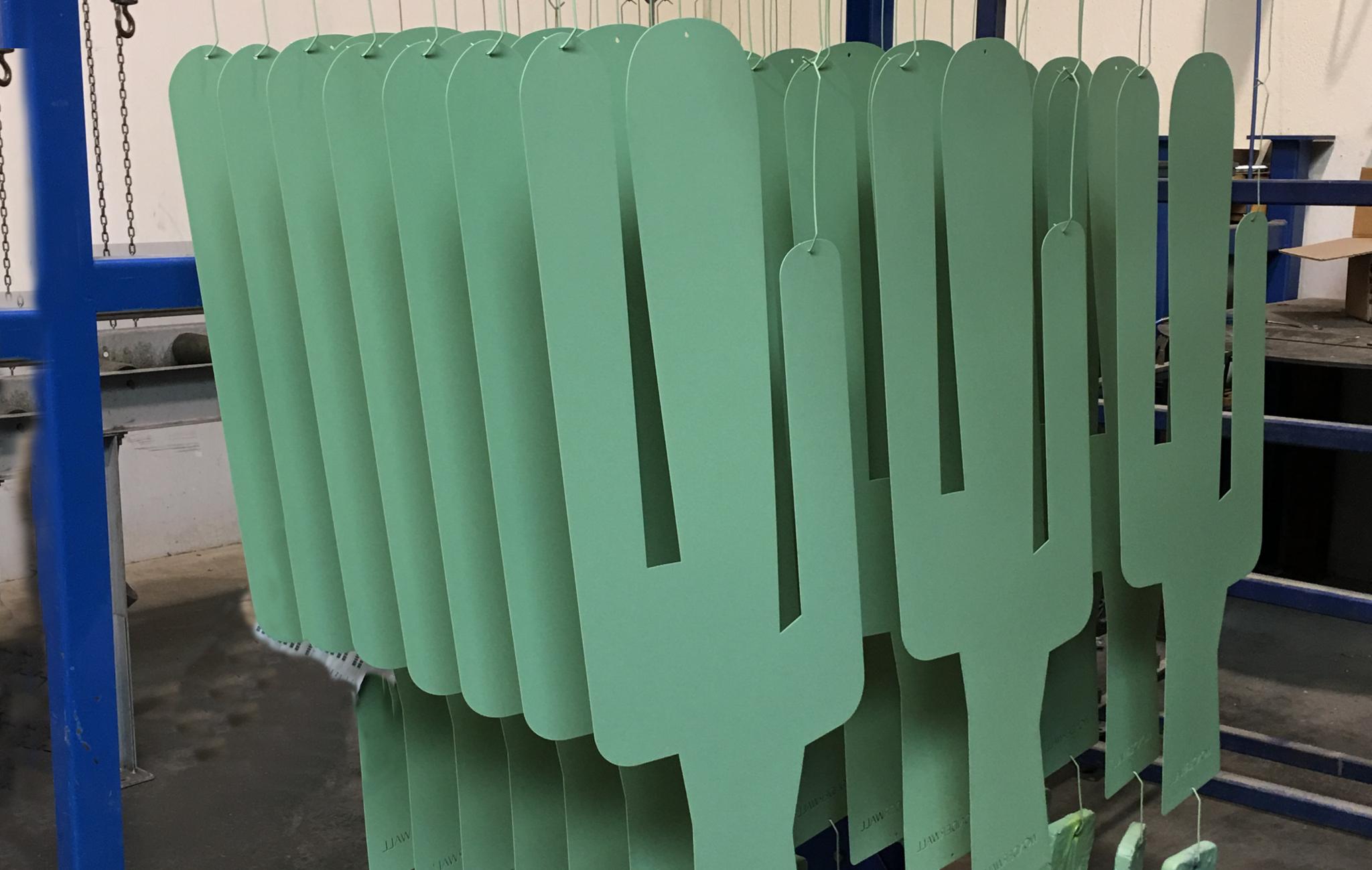 cactus magneetbord productie