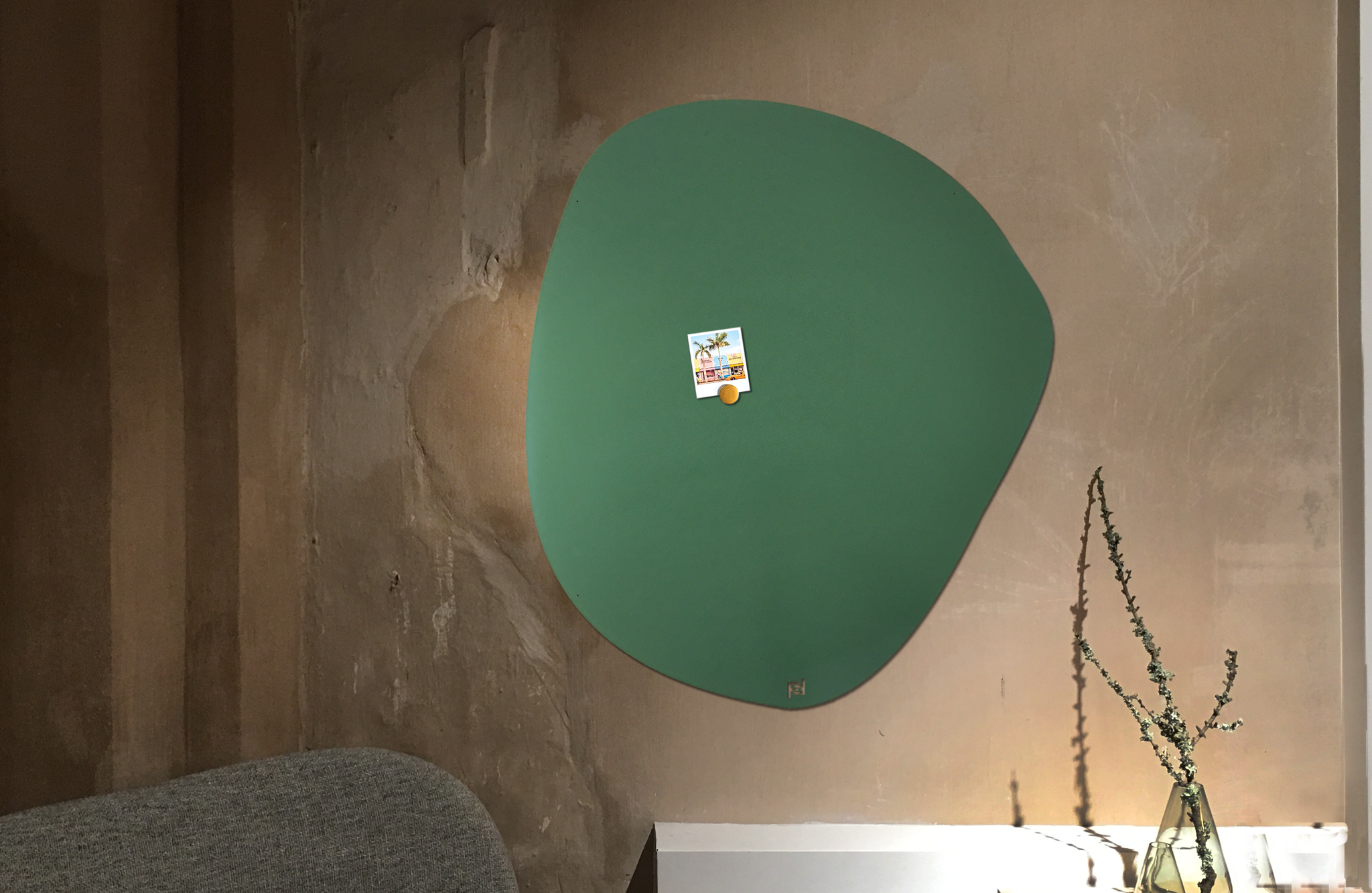 Christo magneetbord
