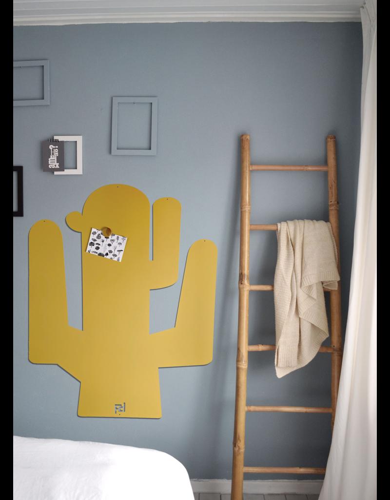FAB5 Wonderwall Magnet Board CACTUS sand yellow 95 x 80 cm