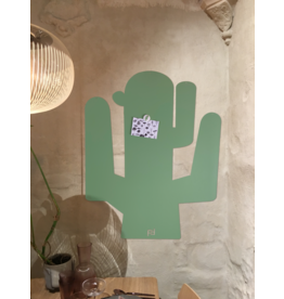 FAB5 Wonderderwall Magneetbord CACTUS XL groen