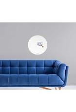 FAB5 Wonderwall Whiteboard Magnetboard Circle 60 cm