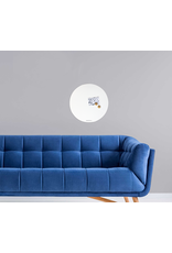WHITEBOARD + magneetbord cirkel rond 50 cm - special collection