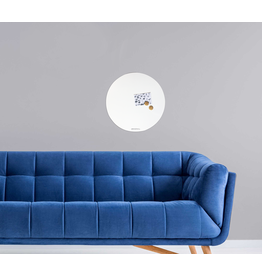WHITEBOARD + magneetbord circle rond 50 cm - special collection