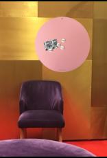 NEW , TABLEAU MAGNETIQUE CIRCLE ROSE -   - Copy