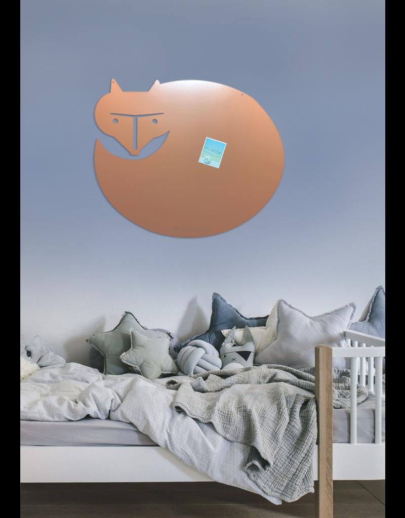 FAB5 Wonderwall 50 X 60 CM FOXY GINGER peach magnetic board