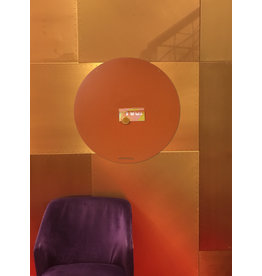FAB5 Wonderwall NEW ROUND GOLD MAGNETIC BOARD PINK - 60 cm -  - Copy - Copy
