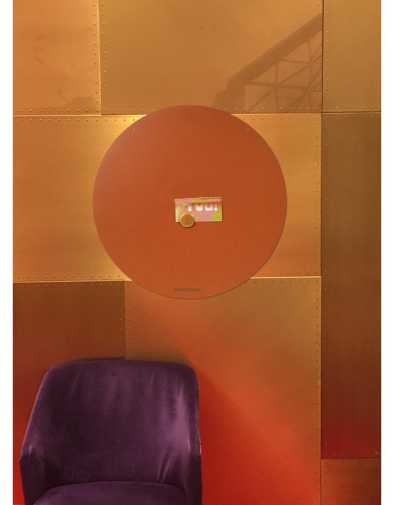 FAB5 Wonderwall NIEUW ROND MAGNEETBORD BRUIN- 83 cm