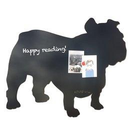 FAB5 Wonderwall Tableau magnétique luxe noir chien