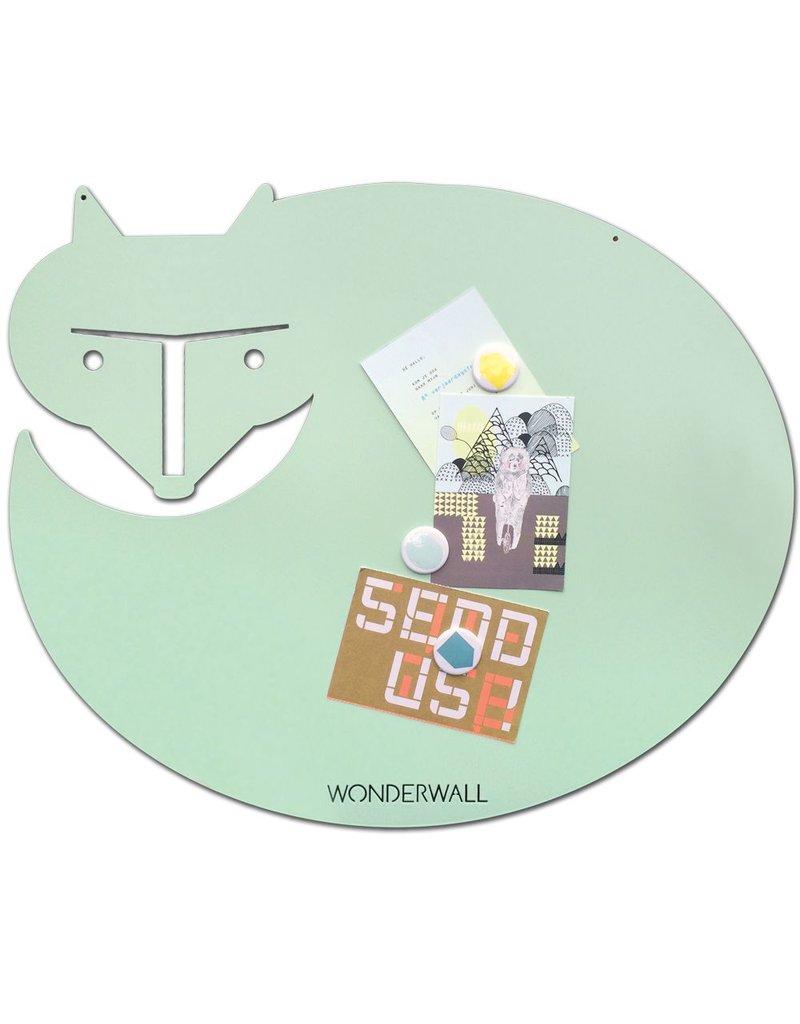 Wonderwall Magnetic board fox mint medium 50 x60 cm