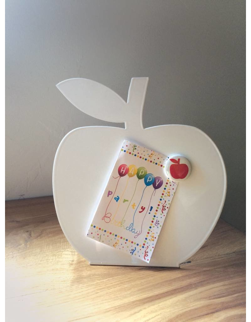 FAB5 Wonderwall Magnetic board + whiteboard apple table model