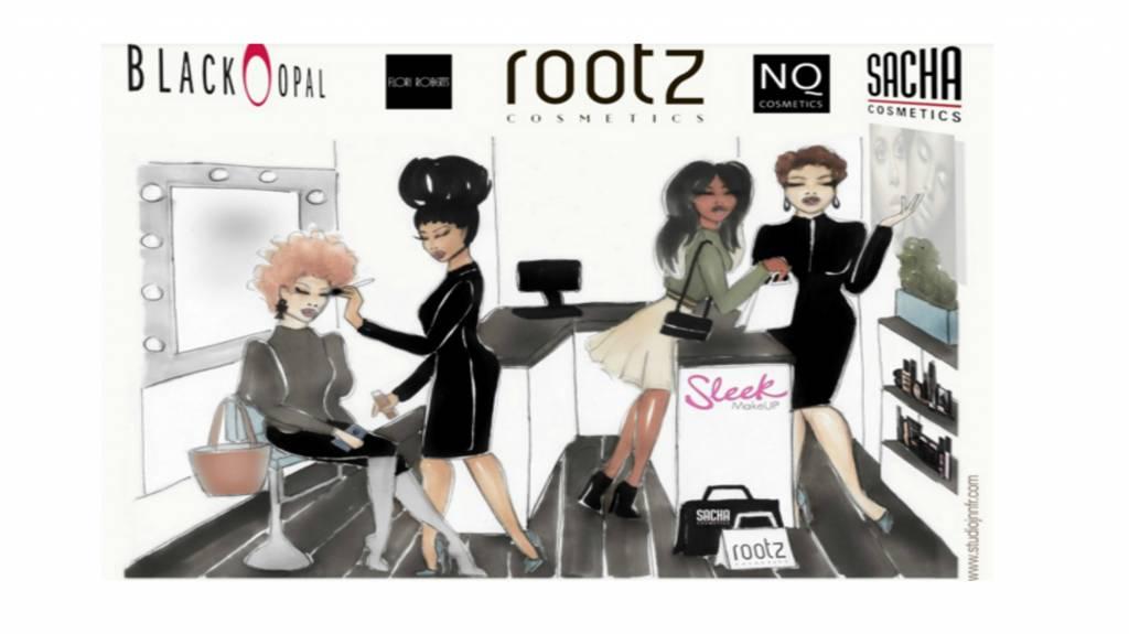 ROOTZ Cosmetics, de eerste luxe cosmeticawinkel donkere huid