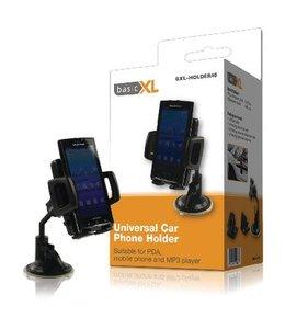 basicXL Universeel Smartphonehouder Auto Zwart