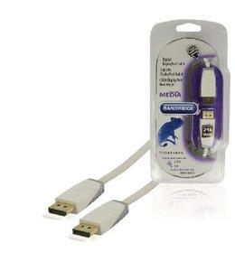 Bandridge DisplayPort Kabel DisplayPort Male - DisplayPort Male 2.00 m Wit