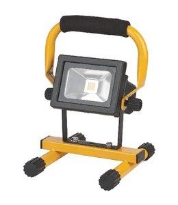 Brennenstuhl Mobiele LED Floodlight 10 W 650 lm Zwart / Geel