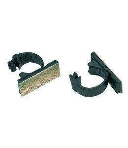 Valueline Kabelclips Klem 18 mm Zwart