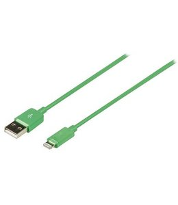 Valueline Data en Oplaadkabel Apple Lightning - USB A Male 2.00 m Groen