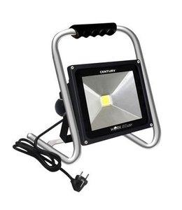 Century LED Floodlight 50 W 4750 lm Zwart