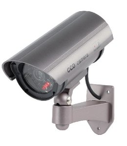König Bullet Dummy Camera IP44 Grijs
