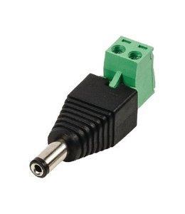 König CCTV-Connector DC Cable Male