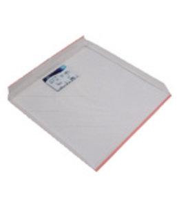 Aquateam Lekbak voor Koelkast en Vriezer 59.6 cm Wit