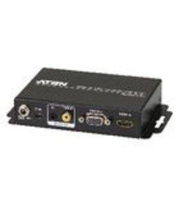 Aten HDMI-Converter HDMI-Ingang - VGA Female 15-Pins / 1x 3.5mm / 1x Coax Audio