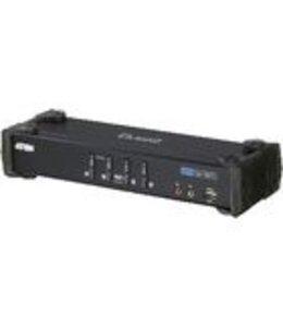 Aten 4-Poorts KVM Switch Zwart