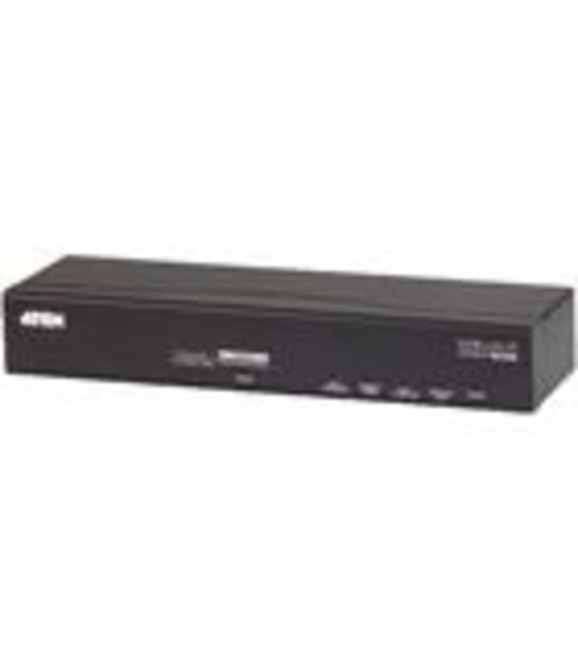 Aten Provides IP transmission capability for DVI-KVM switches that do not feature IP transmission capability as standard