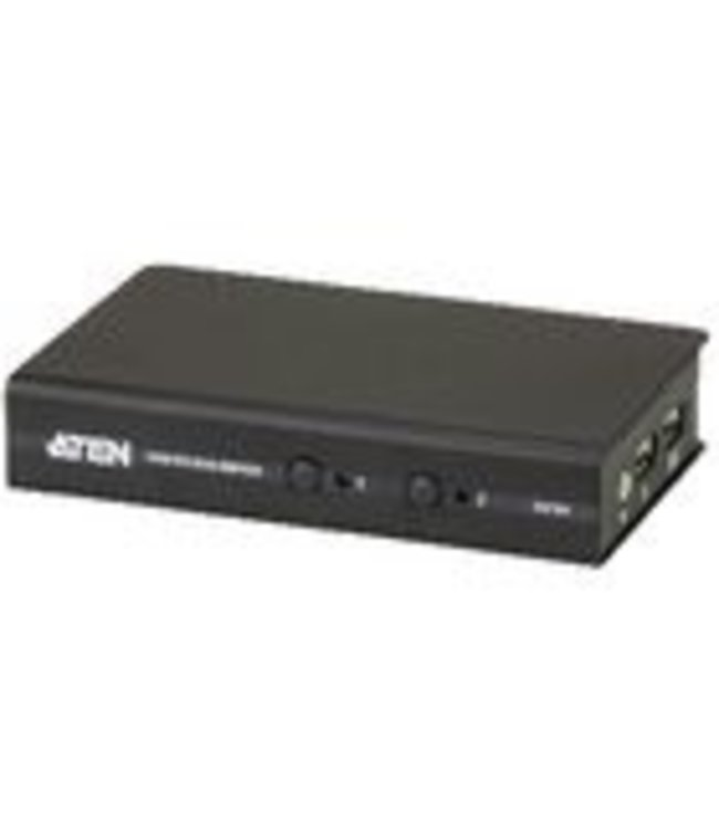 Aten The USB DVI KVM Switch allows you to control multiple computers using one USB mouse, USB keyboard and Digital Visual Interface (DVI) monitor console.