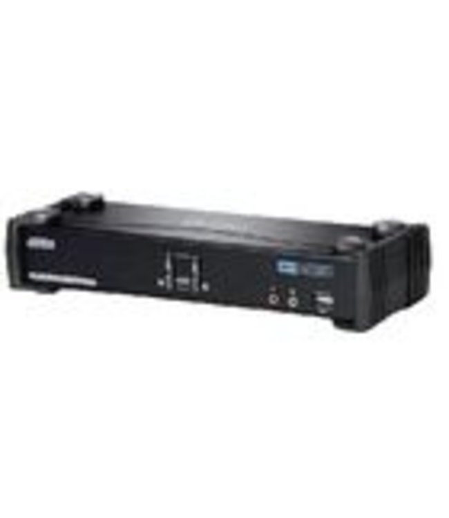 Aten The CS1782A USB DVI Dual Link KVMP™ Switch charts a revolutionary direction in KVM switch functionality. It combines the capabilities of a 2-port KVM switch with a 2-Port USB hub, while providing a DVI monitor interface and audio support. Moreover it carr