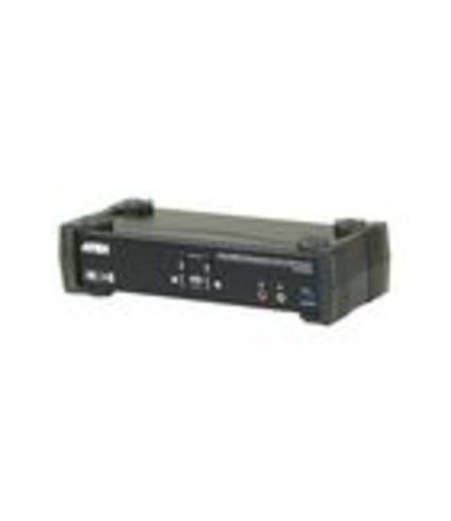 Aten Incorporating the latest Multi-Stream Transport (MST) technology, the CS1922M 2-Port USB 3.0 4K DisplayPort MST KVMP™ Switch is the world's first DisplayPort KVM switch with a built-in MST hub. The CS1922M enables users to adopt two console displays from