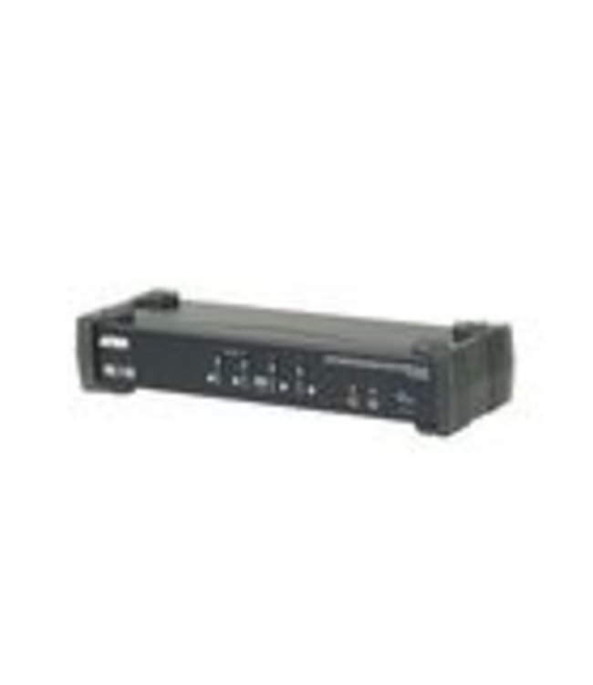 Aten Incorporating the latest Multi-Stream Transport (MST) technology, the CS1924M 4-Port USB 3.0 4K DisplayPort MST KVMP™ Switch is the world's first DisplayPort KVM switch with a built-in MST hub. The CS1924M enables users to adopt two console displays from