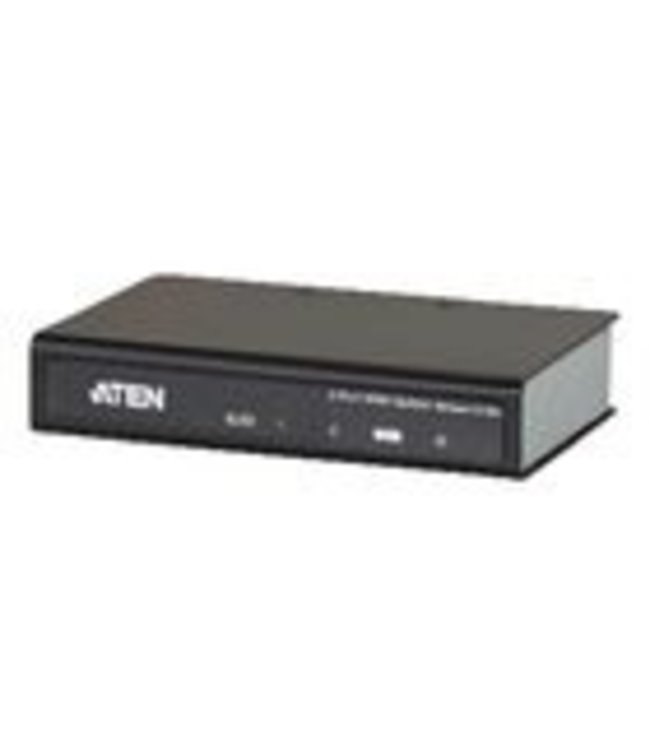 Aten The HDMI Splitter is the perfect solution for anyone who needs to send one source of digital high definition video to multiple displays at the same time.