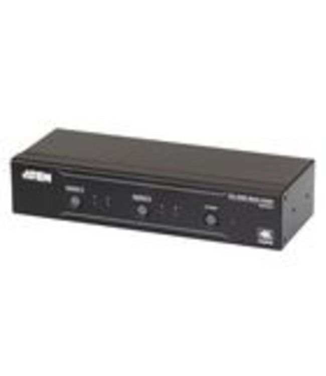 Aten The VM0202H is a 2 X 2 HDMI Matrix Switch that meets HDMI Specification features including 3D, Deep Color up to 12- bit, and data rates up to 10.2 Gbps. Engineered for the future trend of high-definition video switching, the VM0202H supports computer and
