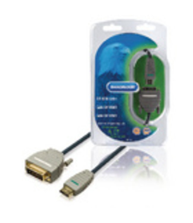 Bandridge Digitale video-aansluiting voor aansluiten van DVD- en andere apparatuur op een HD TV.