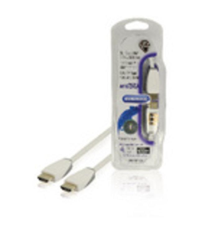 Bandridge Sluit mediaspelers aan op videoapparatuur met een HDMI-ingang.