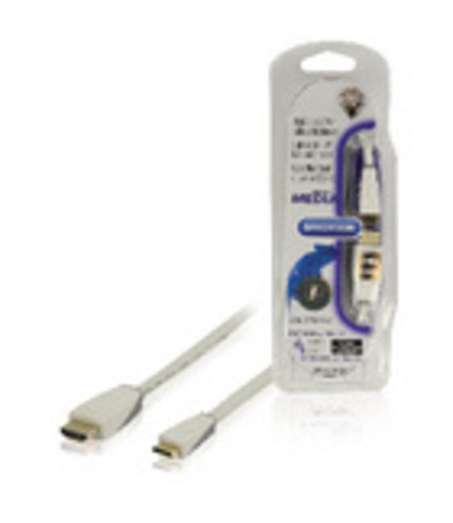 Bandridge Sluit mediaspelers of tablets aan op videoapparatuur met een HDMI-ingang.