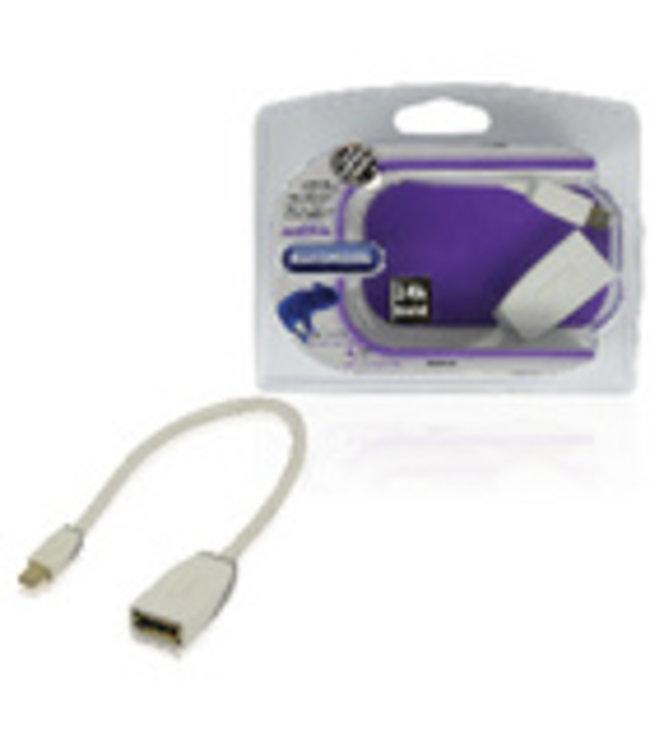 Bandridge Sluit een PC of notebook aan op een LCD- of LED-scherm met een DisplayPort-ingang.