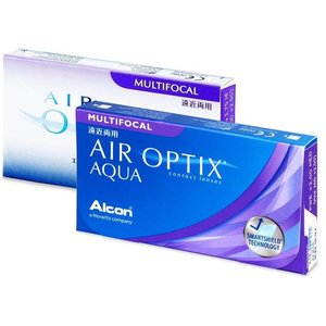 Air Optix Aqua Multifocal - 3 lenzen