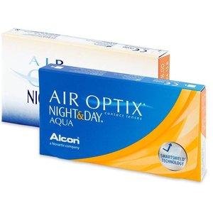Air Optix Night & Day Aqua - 6 lentilles