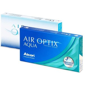 Air Optix Aqua - 6 Linsen