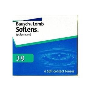 Soflens 38 - 6 lentilles