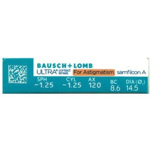 Ultra for Astigmatism- 6 lentilles