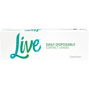 Live Daily Disposable - 30 lenzen
