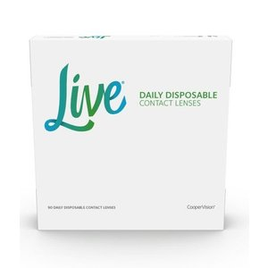 Live Daily Disposable - 90 lenses