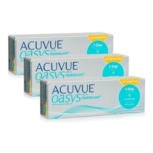 Acuvue 1-Day Oasys for Astigmatism - 90 lentilles